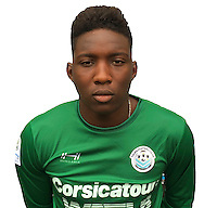 Bingourou Kamara during photocall of Tours FC for new season of Ligue 2 on October 9th 2016<br /> Photo : Fct / Icon Sport