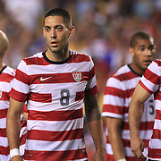Clint Dempsey, USA, during the USA V Brazil International friendly soccer match at FedEx Field, Washington DC, USA. 30th May 2012. Photo Tim Clayton