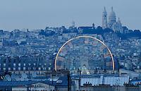 Montmartre and Sacre Coeur- Photograph by Owen Franken