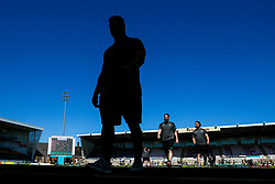 Gareth Milasinovich of Worcester Warriors arrives at Franklins Gardens for the Aviva Premiership fixture against Northampton Saints - Mandatory by-line: Robbie Stephenson/JMP - 05/05/2018 - RUGBY - Franklin's Gardens - Northampton, England - Northampton Saints v Worcester Warriors - Aviva Premiership