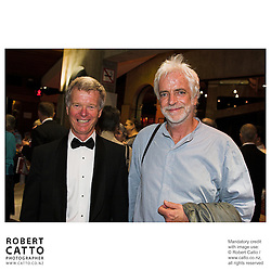 Peter Walls;Ross Harris at the NZSO 60th Anniversary Concert at Michael Fowler Centre, Wellington, New Zealand.