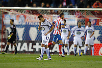 09.12.2012 SPAIN -  La Liga 12/13 Matchday 15th  match played between Atletico de Madrid vs R.C. Deportivo de la Courna (6-0) at Vicente Calderon stadium. The picture show  Javier?Camu?as (Player of R.C. Deportivo)