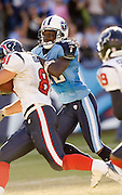 NASHVILLE, TN - OCTOBER 29:  Pacman Jones #32 of the Tennessee Titans make a tackle against the Houston Texans at LP Field on October 29, 2006 in Nashville, Tennessee. The Titans defeated the Texans 28 to 22. (Photo by Wesley Hitt/Getty Images)***Local Caption***Pacman Jones