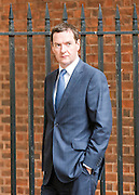 © Licensed to London News Pictures. 03/09/2014. London, UK Chancellor George Osborne on Downing Street today 3rd September 2014. Photo credit : Stephen Simpson/LNP