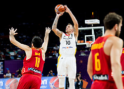 Daniel Theis of Germany during basketball match between National Teams of Germany and Spain at Day 13 in Round of 16 of the FIBA EuroBasket 2017 at Sinan Erdem Dome in Istanbul, Turkey on September 12, 2017. Photo by Vid Ponikvar / Sportida