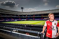 Feyenoord presenteert nieuwe aanwinst Sam Larsson ROBIN UTRECHT