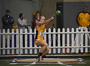 Feb 24, 2017; Seattle, WA, USA; Maggie Ewen of Arizon State wins the women's weight throw at 70-7 3/4 (21.53m) during the MPSF Indoor Championships at the Dempsey Indoor.
