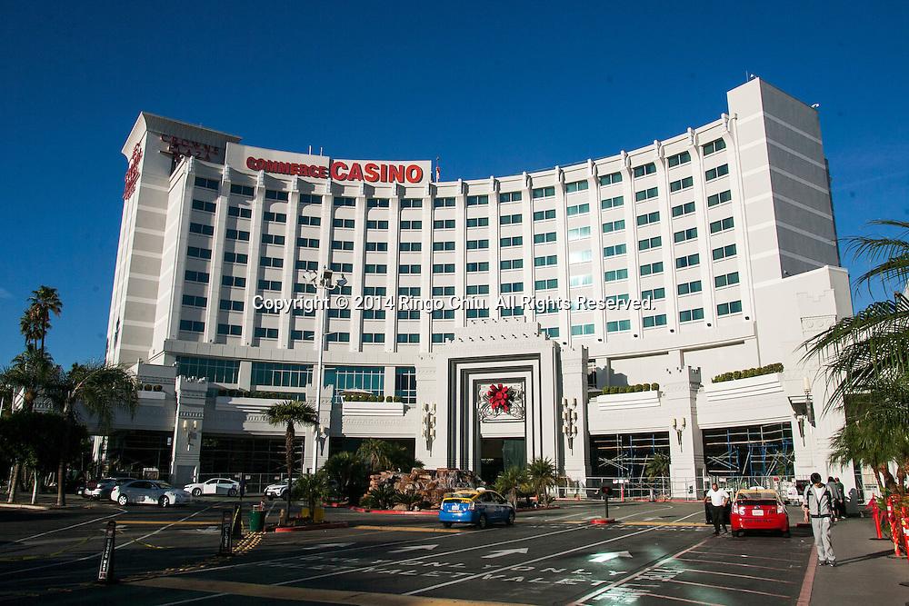 The Commerce Casino.(Photo by Ringo Chiu/PHOTOFORMULA.com)
