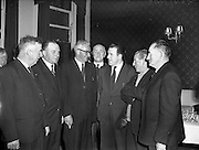 12/12/1957<br /> 12/12/1957<br /> 12 December 1957<br /> Annual General Meeting of the General Council of County Councils Luncheon at the Dolphin Hotel, Dublin.