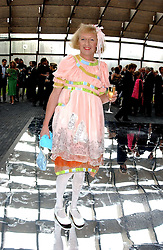 Artist GRAYSON PERRY at the annual Serpentine Gallery Summer Party co-hosted by Jimmy Choo shoes held at the Serpentine Gallery, Kensington Gardens, London on 30th June 2005.<br />
