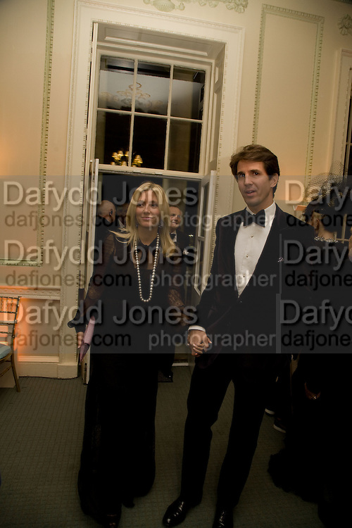 PRINCE PAVLOS OF GREECE; MARIE CHANTAL OF GREECE, Nicky Haslam party for Janet de Botton and to celebrate 25 years of his Design Company.  Parkstead House. Roehampton. London. 16 October 2008.  *** Local Caption *** -DO NOT ARCHIVE-© Copyright Photograph by Dafydd Jones. 248 Clapham Rd. London SW9 0PZ. Tel 0207 820 0771. www.dafjones.com.