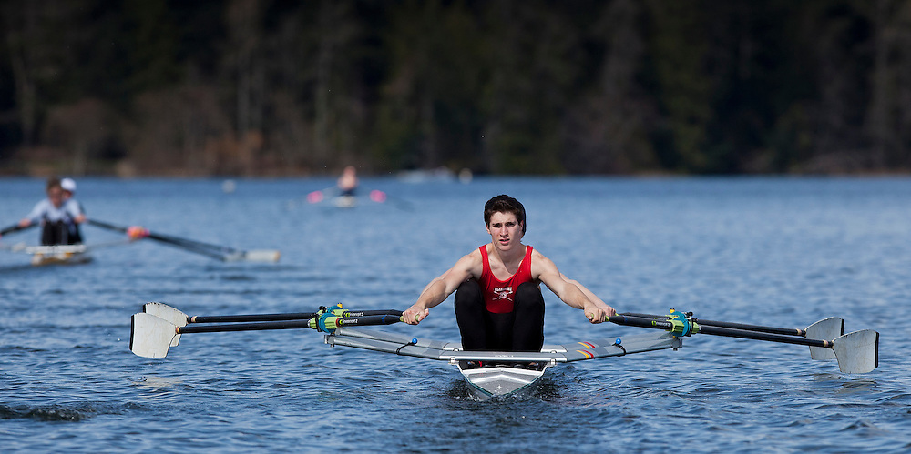 Claremont Rowing CSI photo Elk Lake picture