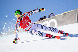 24.01.2020, Streif, Kitzbühel, AUT, FIS Weltcup Ski Alpin, SuperG, Herren, im Bild Andreas Sander (GER) // Andreas Sander of Germany in action during his run for the men's SuperG of FIS Ski Alpine World Cup at the Streif in Kitzbühel, Austria on 2020/01/24. EXPA Pictures © 2020, PhotoCredit: EXPA/ Johann Groder