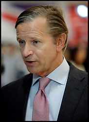 Portrait of Marc Bolland-CEO of Marks and Spencer being interview in China during Boris Johnson's trip to the country, Sunday, 13th October 2013. Picture by Andrew Parsons / i-Images