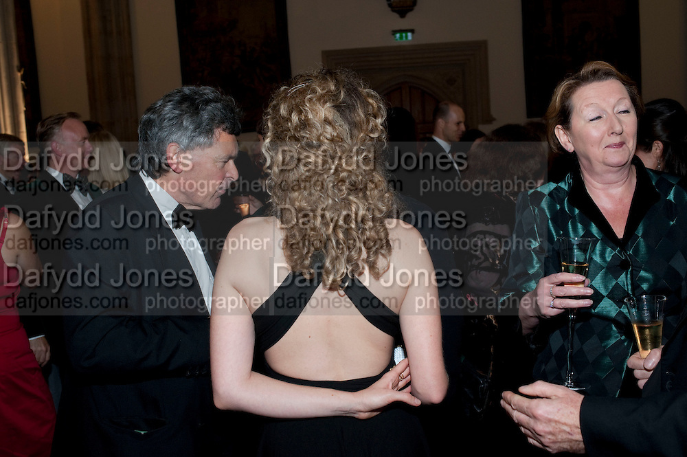ANNA STOTHARD;, The 2009 Booker Prize dinner. Guildhall. London. 6 October 2009