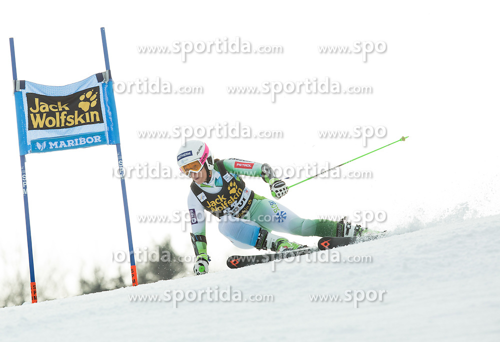 Katarina Lavtar (SLO) competes during 7th Ladies' Giant slalom at 52nd Golden Fox - Maribor of Audi FIS Ski World Cup 2015/16, on January 30, 2016 in Pohorje, Maribor, Slovenia. Photo by Vid Ponikvar / Sportida