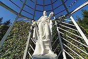 Statue Russischer Garten, Schlosspark Belvedere, Weimar, Thüringen, Deutschland   Russian Garden, palace park Belvedere, Weimar, Thuringia, Germany