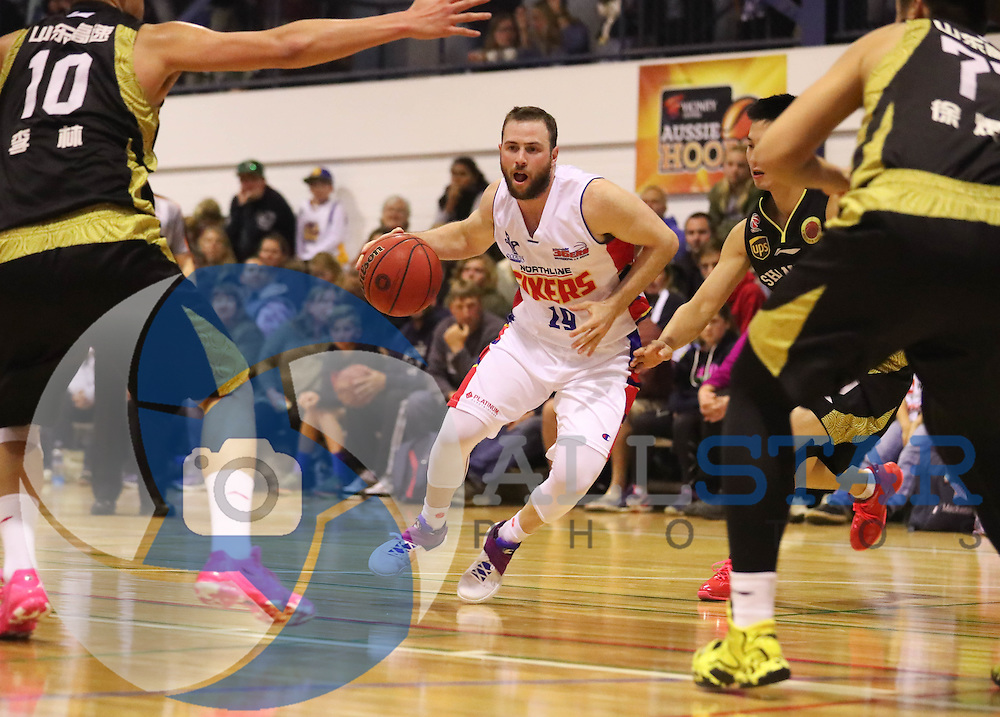 13/09/2016 Adelaide 36ers v Shandong Golden Stars at Waikerie.