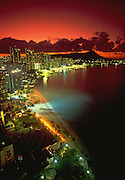 Waikiki, Oahu, Hawaii, USA<br />