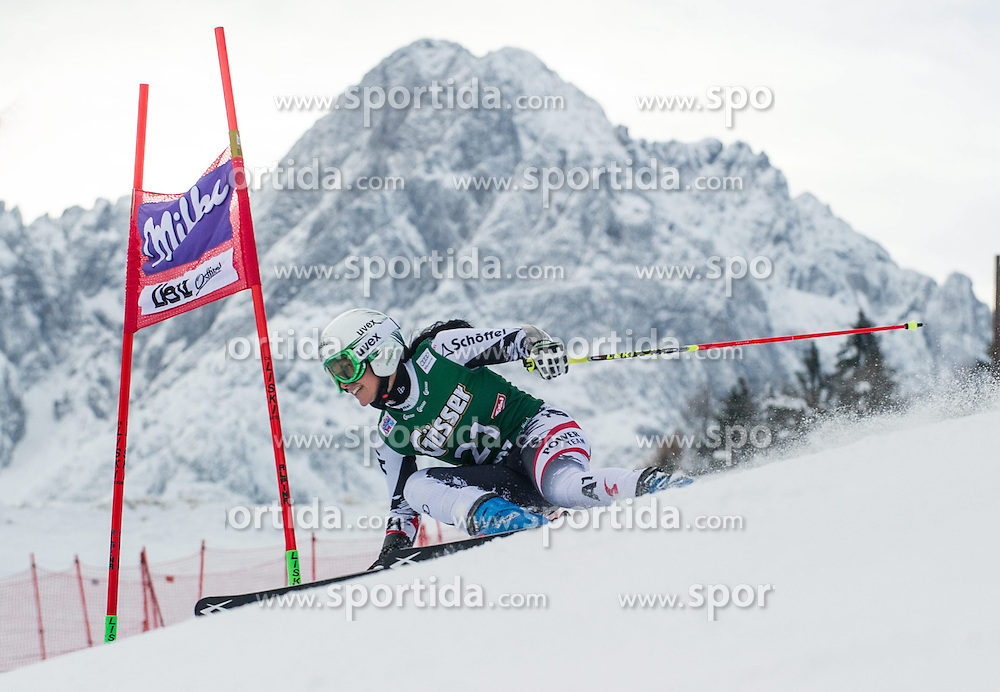 28.12.2013, Hochstein, Lienz, AUT, FIS Weltcup Ski Alpin, Lienz, Riesentorlauf, Damen, 1. Durchgang, im Bild Stefanie Koehle (AUT) // during the 1st run of ladies giant slalom Lienz FIS Ski Alpine World Cup at Hochstein in Lienz, Austria on 2013-12-28, EXPA Pictures © 2013 PhotoCredit: EXPA/ Michael Gruber