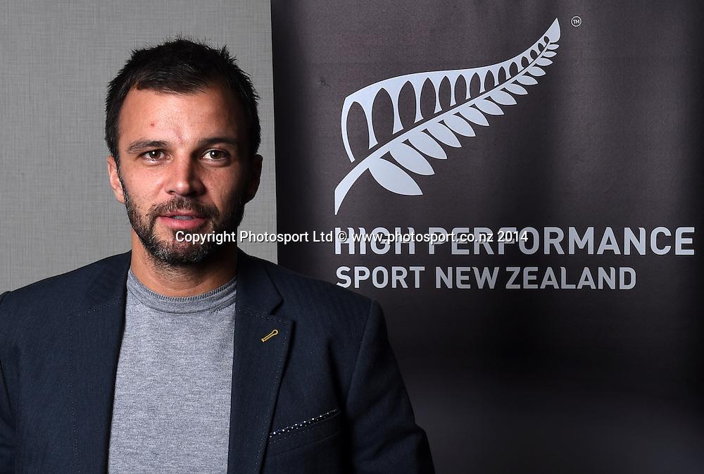 All Whites coach Anhony Hudson. High Performance Sport New Zealand Coach Recognition Dinner, Waipuna Lodge, Auckland, New Zealand. Thursday 2 October 2014. Photo: Andrew Cornaga / www.photosport.co.nz