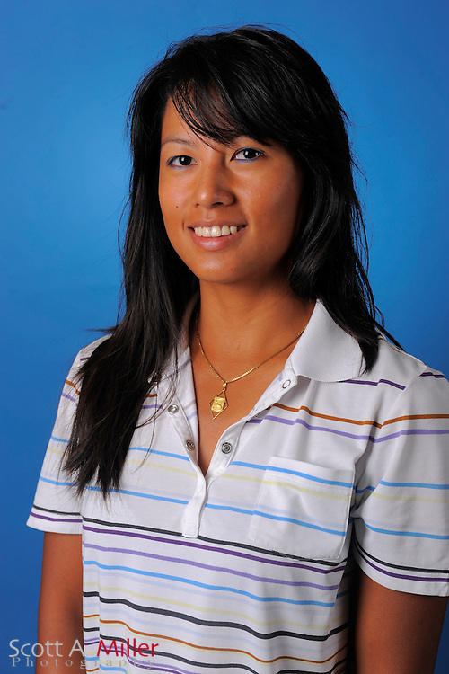 Mayule Tomimbang during a portrait session prior to the second stage of LPGA Qualifying School at the Plantation Golf and Country Club on Sept. 25, 2011 in Venice, FL...©2011 Scott A. Miller