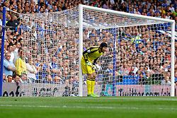 Chelsea's Petr Cech in action  - Photo mandatory by-line: Mitchell Gunn/JMP - Tel: Mobile: 07966 386802 18/08/2013 - SPORT - FOOTBALL - Stamford Bridge - London -  Chelsea v Hull City - Barclays Premier League