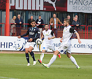 Dundee's Luka Tankulic and Inverness Caledonian Thistle&rsquo;s Daniel Devine - Dundee v Inverness Caledonian Thistle - SPFL Premiership at Dens Park <br /> <br />  - &copy; David Young - www.davidyoungphoto.co.uk - email: davidyoungphoto@gmail.com