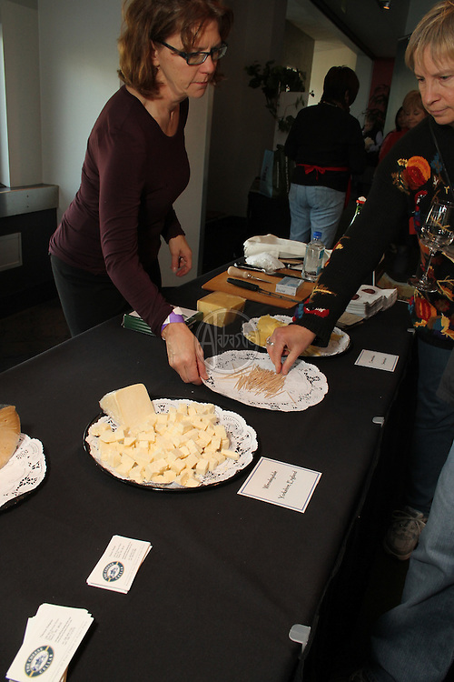 American Lamb Jam Seattle, Oct 24, 2010 at Bell Harbor International Conference Center, benefitting the Neighborhood Farmers Market Alliance.
