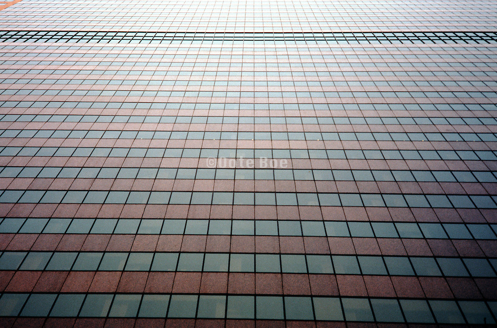 abstraction of glass office building