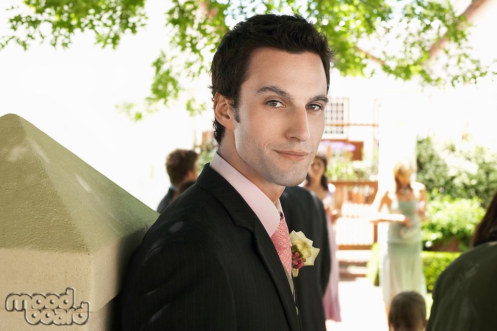 Man at Wedding