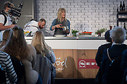 Annabel Langbein presents a cooking demonstration at the Food Show at Westpac Stadium in Wellington on Saturday the 25 May 2019. Copyright Photo by Marty Melville / www.Photosport.nz