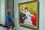 Sophie Menter by Ilia Repin, 1887 - Russia and the Arts: The Age of Tolstoy and Tchaikovsky - Part of a cultural exchange with the State Tretyakov Gallery in Moscow, a new exhibition marking the 160th anniversary of both galleries. Works include key figures from the 'golden age of the arts' in Russia, 1867-1914. Runs until June 26. Private view March 14. National Portrait Gallery, St Martin's Place, London.