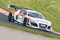 #23 Mark Patterson/Matt Bell - United Autosports, Audi R8 LMS ultra during qualifiying seaaion one for the Avon Tyers British GT Championship at Oulton Park, Little Budworth, Cheshire, United Kingdom. April 19 2014. World Copyright Peter Taylor/PSP. Copy of publication required for printed pictures.  Every used picture is fee-liable. http://archive.petertaylor-photographic.co.uk