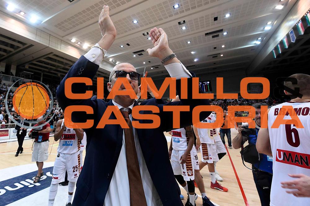Walter De Raffaele<br /> Dolomiti Energia Aquila Basket Trento - Umana Reyer Venezia<br /> Lega Basket Serie A 2016/2017<br /> Playoff, finale gara 3<br /> Trento, 14/06/2017<br /> Foto Ciamillo-Castoria