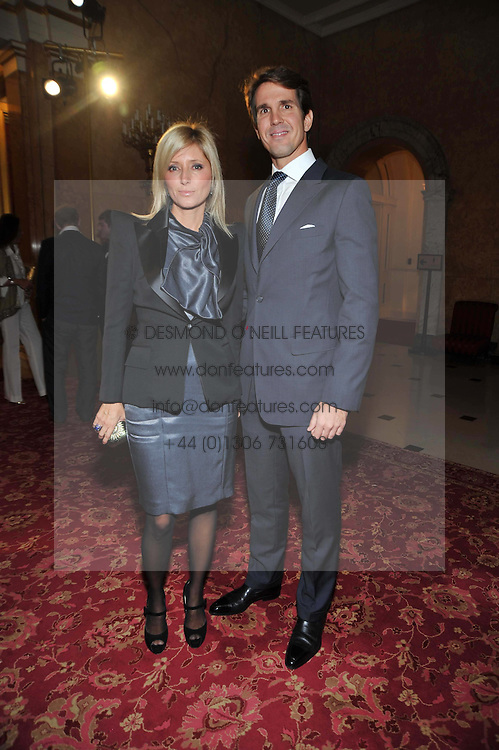 CROWN PRINCE PAVLOS and PRINCESS MARIE CHANTAL OF GREEC at a party to celebrate 300 years of Tatler magazine held at Lancaster House, London on 14th October 2009.