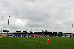A general view of the Sixways Stadium during the IFAF European Championships - Photo mandatory by-line: Dougie Allward/JMP - 18/09/2016 - American Football - Sixways Stadium - Worcester, England - Great Britian v Czech Republic - IFAF European Championship