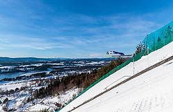 18.03.2018, Vikersundbakken, Vikersund, NOR, FIS Weltcup Ski Sprung, Raw Air, Vikersund, Finale, im Bild Philipp Aschenwald (AUT) // Philipp Aschenwald of Austria during the 4th Stage of the Raw Air Series of FIS Ski Jumping World Cup at the Vikersundbakken in Vikersund, Norway on 2018/03/18. EXPA Pictures © 2018, PhotoCredit: EXPA/ JFK