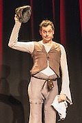 13/11/2012. London, UK. As part of Southbank Centre's Winter Festival, former Cirque du Soleil French star clown Julien Cottereau presents the English premiere of Imagine Toi, a funny and heart-warming one-man show which won France's prestigious Molière award.