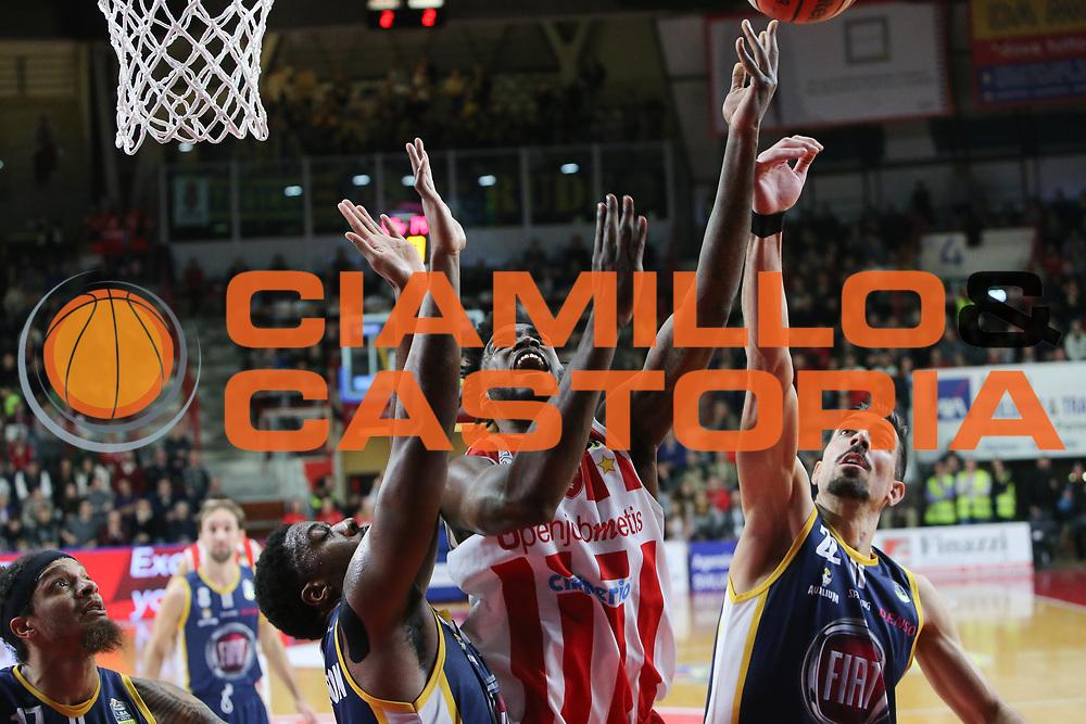 Pelle Norvel<br /> Openjobmetis Varese - Fiat Torino<br /> Lega Basket Serie A 2017/2018<br /> Varese, 14/01/2018<br /> Foto Ciamillo - Castoria