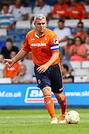 Steve McNulty of Luton Town during the Pre Season Friendly match at Kenilworth Road, Luton<br /> Picture by David Horn/Focus Images Ltd +44 7545 970036<br /> 26/07/2014