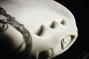 Ultimate model car: The £30,000 Ferrari that took 100 hours to carve out of MARBLE and is a quarter of the size of a real one<br /> <br /> The 1962 Ferrari 250 GTO is one of the world's most desirable cars.<br /> Collectors pay up to £30 million to own one. Now avid car fans can now purchase their own for one-thousandth the price of the real thing, but it is four times smaller.<br /> Luxury stone specialists Lapicida, based in Yorkshire, have created a one-off version of the iconic vehicle. But unlike the Ferrari, which is capable of driving at 173mph, this model GTO will be going nowhere fast - as it has been made completely from marble.<br /> It took staff more than 100 hours to cave the intricate sculpture, with the model crafted out of a single block of Arabescato Italian marble.<br /> The unique 1.2-metre long creation was designed using state-of-the-art 3D scanning and advanced 3DMAX software.<br /> It was unveiled this week by the firm, which is selling the automotive ornament for £30,000. <br /> Jason Cherrington, boss of Lapicida, said: 'We made the Ferrari 250 GTO in marble to demonstrate our unique capabilities. It is a testament to our craftsmens' skills and now occupies pole position in our London showroom window.' The model will be put on display in their in the window of their London showroom. Jason Cherrington, boss of Lapicida, said: 'We have had a lot of enquiries about it and expect to sell it shortly.'<br /> ©Lapicida/Exclusivepix