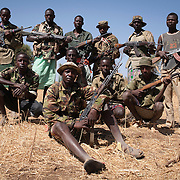 Armed Turkana young men.
