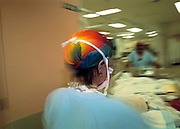 Moving Patient from Theatre, Hospital, Australia