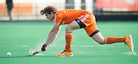 ROTTERDAM -  Siem Schoenaker of  Neth.     Test Match Hockey : Netherlands Boys U18  v England U18 . COPYRIGHT KOEN SUYK