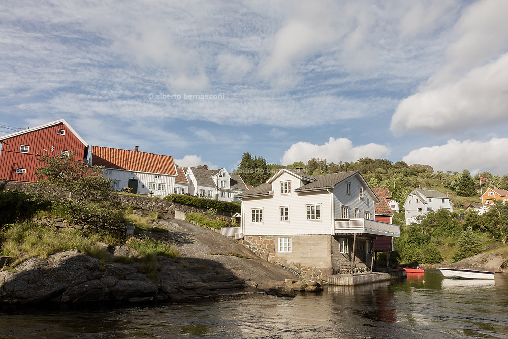 Sogndalstrand  village is situated 30 kilometres south of the town of Egersund, and was originally an important seaport in the days of sail.