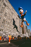 Donald Duck Balloon, Macy's Day Parade, New York City, New York, USA, November 1984
