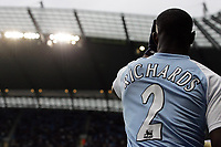Photo: Paul Thomas.<br /> Manchester City v Newcastle United. The Barclays Premiership. 11/11/2006.<br /> <br /> New England call up Micah Richards of Man City.