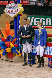 Judy Ann Melchior, Mc Entee Patrick, BEL<br /> World Cup Final Jumping - Las Vegas 2007<br /> © Hippo Foto - Dirk Caremans