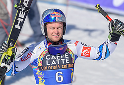 16.03.2019, Soldeu, AND, FIS Weltcup Ski Alpin, alpine Kombination, Herren, Siegerehrung, Weltcupwertung, im Bild Alexis Pinturault (FRA) // Alexis Pinturault of France during the winner ceremony for the men's alpine combination Worldcup rating of FIS Ski Alpine World Cup finals. Soldeu, Andorra on 2019/03/16. EXPA Pictures © 2019, PhotoCredit: EXPA/ Erich Spiess